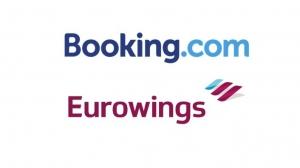 Booking.com diventa partner alberghiero ufficiale di Eurowings